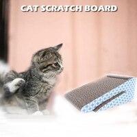 Cat Scratch Board Kitten Corrugated Paper Pad Cats Grinding Nail Scraper Pet Products Furniture Cat Scratching Mat Toy