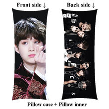 New SUGA hugging long Pillow include inner Bangtan Boys Min Yun Ki body pillow Customize(China)