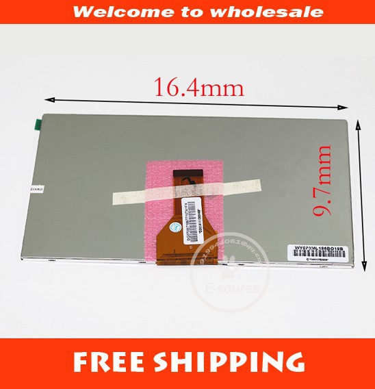 New LCD Display Matrix For 7 IRBIS TG79 3G TABLET LCD Display 1024x600 30Pins Screen Panel Frame Free Shipping new lcd display matrix for 7 nexttab a3300 3g tablet inner lcd display 1024x600 screen panel frame free shipping