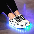 Led Shoes Women&Men Bright LED Light Shoes Casual Luminous Shoes Glowing Basket 7 Colour Light Chaussure Lumineuse