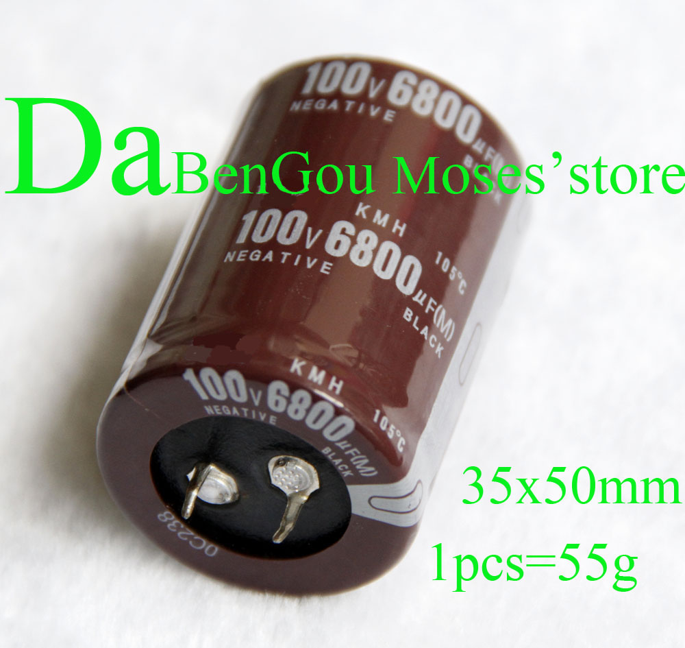100V 6800uf Electrolytic Capacitor Radial 35x50mm 10pcs