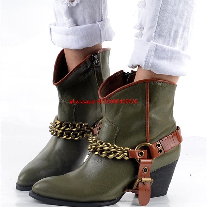 Popular Biker Cowboy Boots-Buy Cheap Biker Cowboy Boots lots from ...
