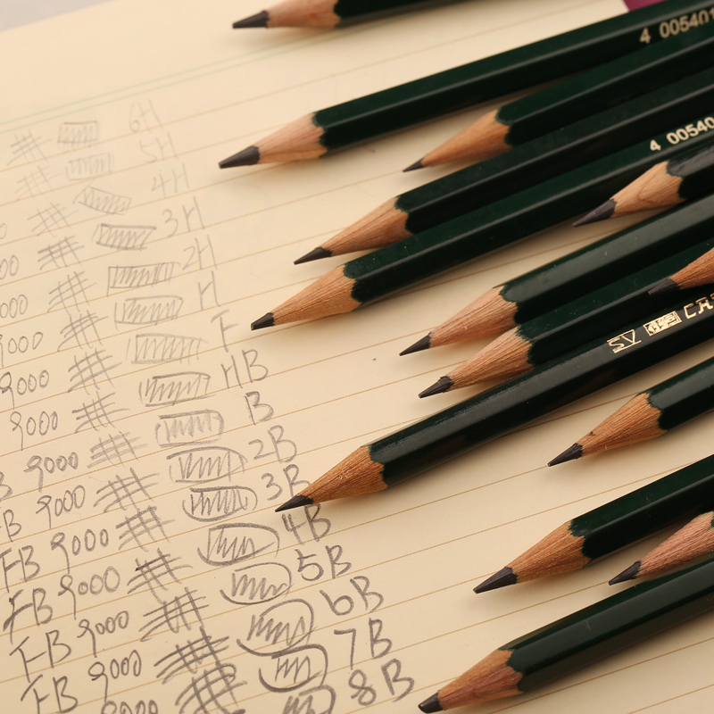 Faber Castell  9000 Series Pencil Sketch Pencil Wood ...