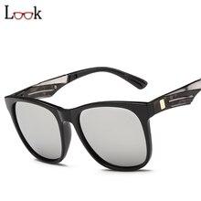 New 2017 espejo de la vendimia gafas de sol mujeres hombres zonnebril rectángulo de la manera de la marca de gran tamaño gafas de sol gafas de sol mujer hombre