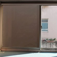 Black Frosted Privacy Window Film Static Glass Sticker opaque Anti-UV Heat Control Office Bedroom door Home decoration