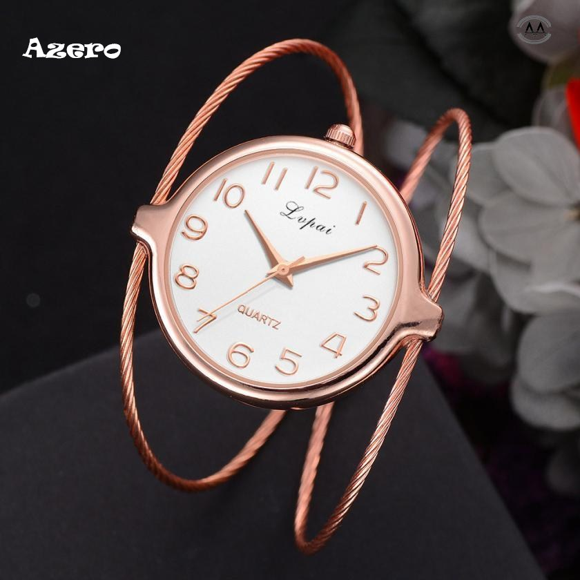 Lvpai Women's Casual Quartz Bracelet Watch Analog Wrist Watch Relogio Feminino Women Watches Reloj Mujer Bayan Kol Saati Relogio newly design dog pug watch women girl pu leather quartz wrist watches ladies watch reloj mujer bayan kol saati relogio feminino