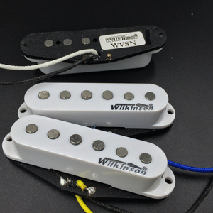 Image 3 - Wilkinson WVS 60er Alnico5 SSS Single Coil Gitarre Pickups Weiß Elektrische Gitarre Pickups Für ST Gitarre Made In Korea