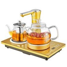 JBL-T3, электрический чайник, автоматический чайник с изоляцией стекла, чайник с высоким бором, силикатное стекло, платформа 37*20