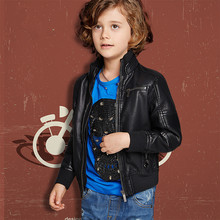 2016 spring and autumn children s wear coat boys girls jacket kids leather clothing childrens Jacket
