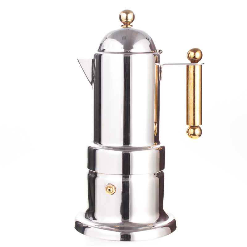 Stainless Steel Mocha Pot Coffee Machine Italian Style Stovetop Espresso Maker Restaurant Tools On Aliexpress Alibaba Group
