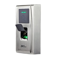 ZKTeco MA300 Metal Waterproof out door use IP65 fingerprint biometric reader time attendance and access controller English Ver