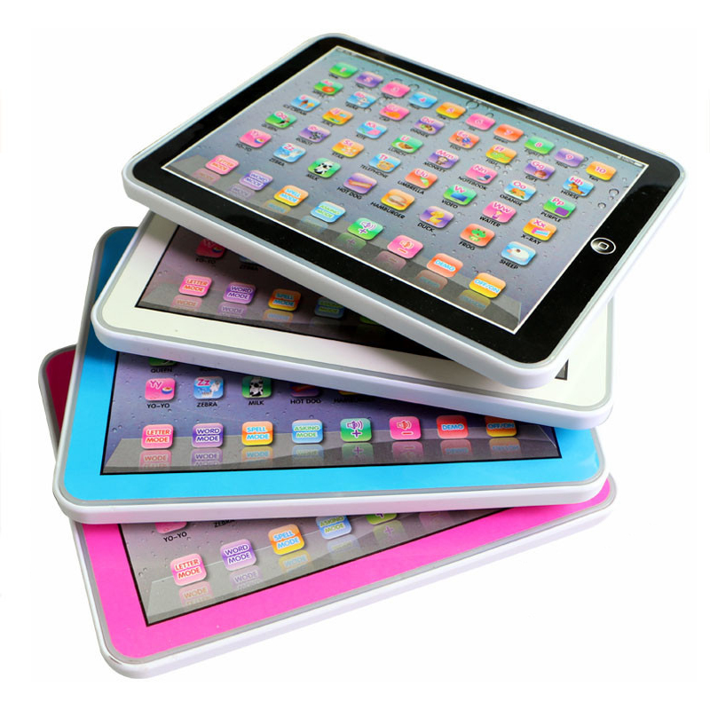 English Learning Machine Children's Laptop Children's Infantil Tablet Story Machine Puzzle Education Learning Toys 4 Colors