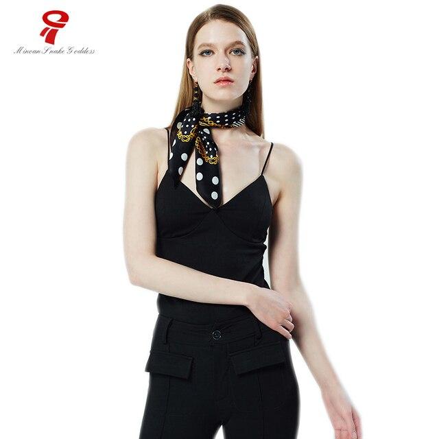 Scarf neck Scarf Luxury Brand foulard Fashion Soft Warp Square Silk female  bandana For Women LIC winter Silk Handkerchief 8a99bcaf263a