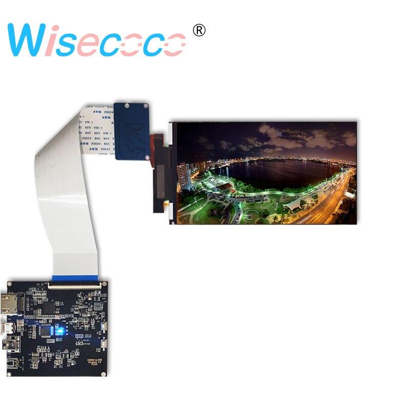 5.5 polegada 4 k Display Lcd Do Painel de tela lcd 3840*2160 Resolução Com Hdmi Para Mipi Para VR 2018 e Hmd 3D impressora projeto diy