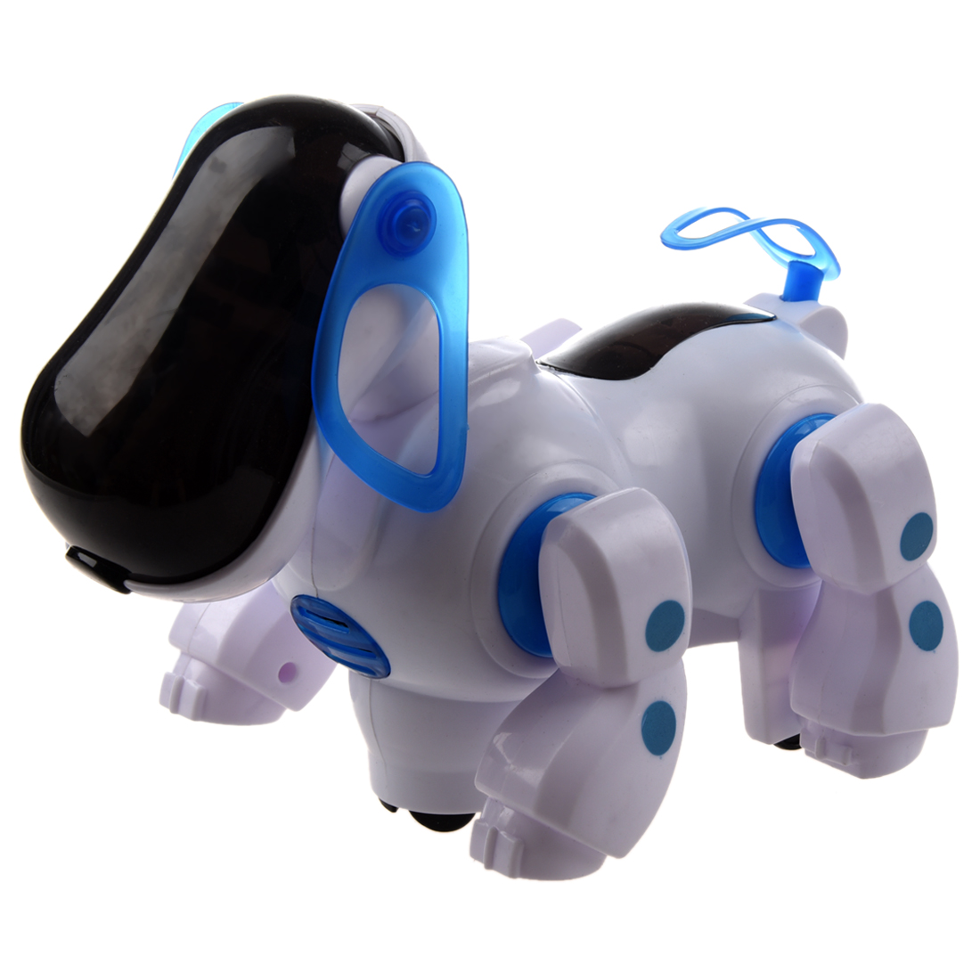 5 pack robot interactif chien marche bosse aller chiot enfants jouet enfants