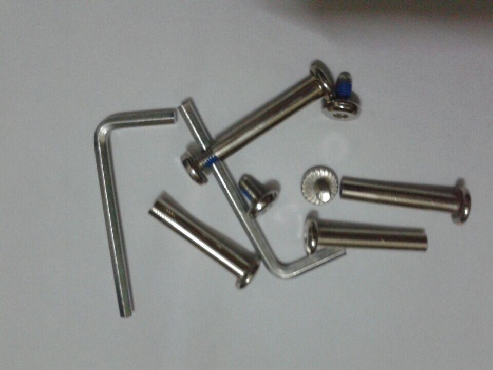 Высокое качество багаж сумку PU тихий Inline Skate колеса диаметр: 75* 23 мм
