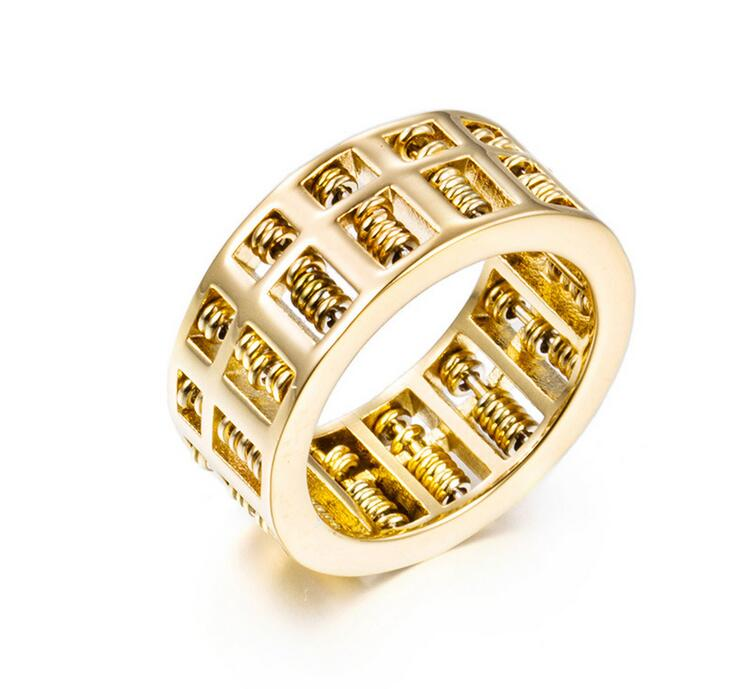 Fashion Abacus Ring For Men Women High Quality Maths