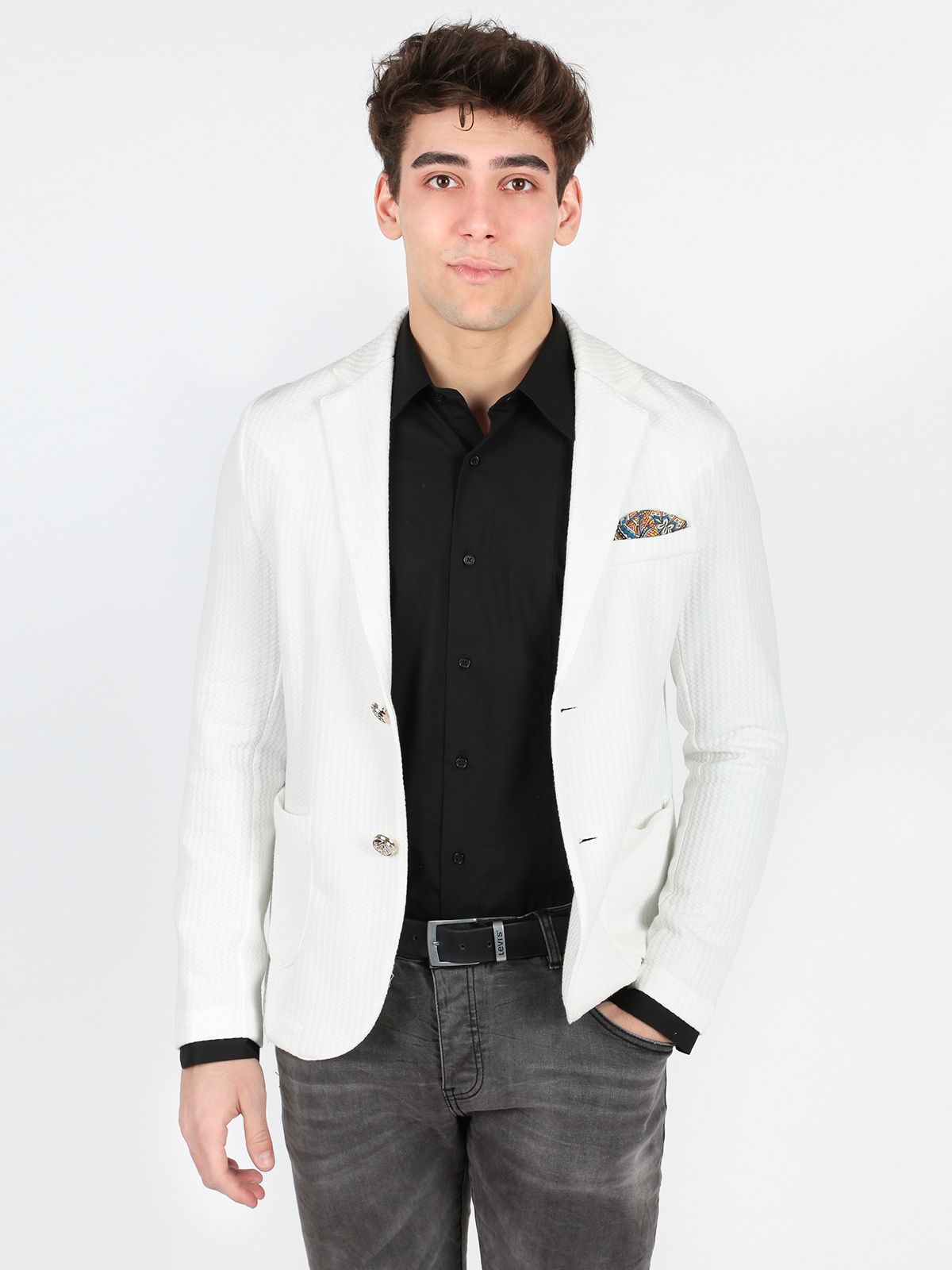 White Blazer Men