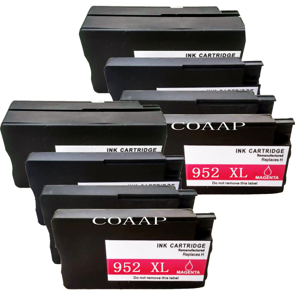 8 Pack Compatible <font><b>952XL</b></font> ink cartridge for hp952 XL OfficeJet Pro 7720 7740 8210 8216 8200 8702 8710 8714 8715 8716 8717 8720 image
