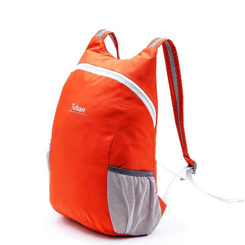 1fe2b4ec7ce4 18L Ultralight Foldable Fitness Sport Gym Bags Waterproof Cycling Backpack  Men Women Outdoor Camping Hiking Travel