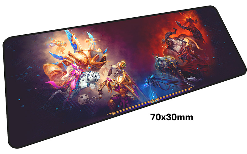heroes of the storm mouse pad gamer 700x300mm notbook mouse mat large gaming mousepad large cool new pad mouse PC desk padmouse