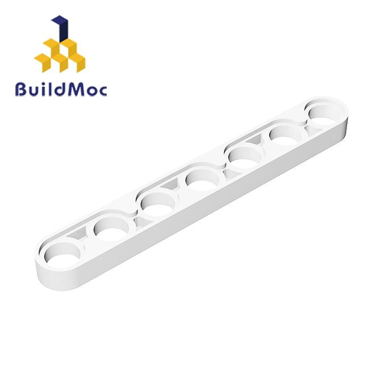 BuildMOC Compatible Assembles Particles 32065 1x7 For Building Blocks Parts DIY LOGO Educational Creative Gift Toys