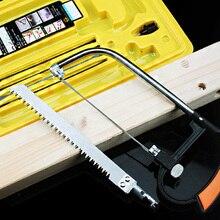 7 в 1 DIY ручная пила многофункциональная маленькая ножовка рама с ножовкой бар модель стальной пилы деревообрабатывающий лобзик devil Saw