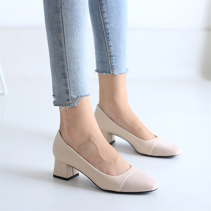 Kjstyrka 2018 Brand Spring Autumn fashion elegant shallow Women shoes casual simple comfortable low heels Ladies  zapatos mujerKjstyrka 2018 Brand Spring Autumn fashion elegant shallow Women shoes casual simple comfortable low heels Ladies  zapatos mujer