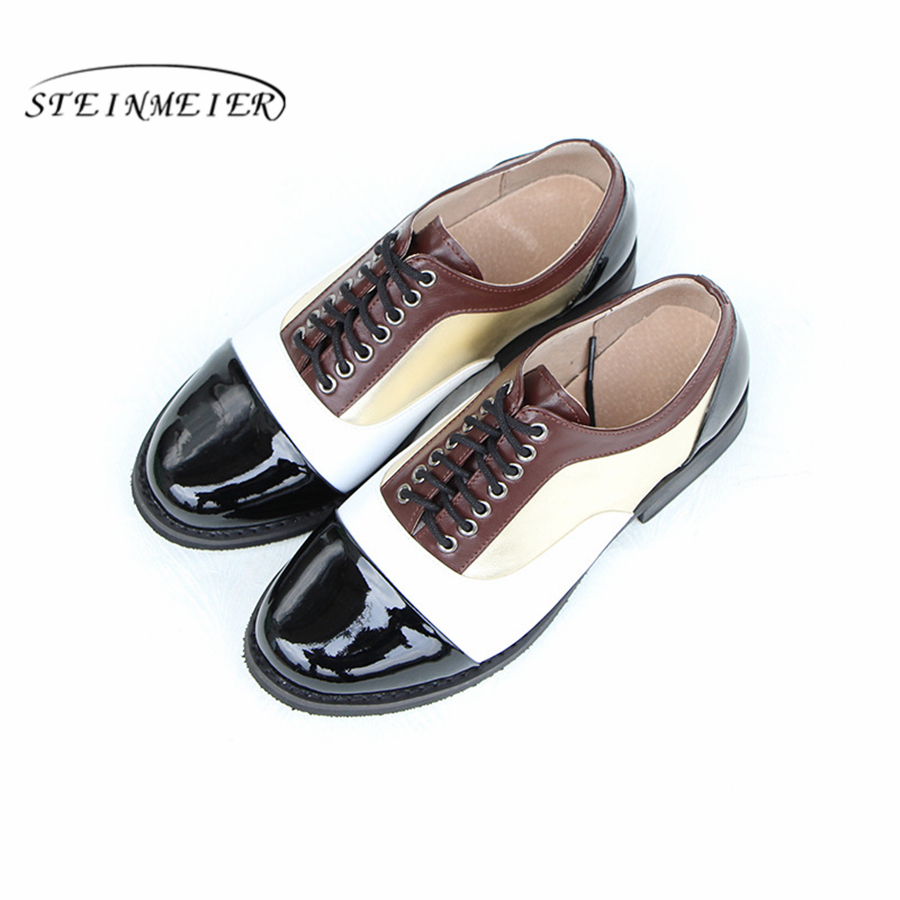 Genuine cow leather brogue casual designer vintage lady flats shoes handmade oxford shoes for women black golden with fur 100% genuine cow leather brogue casual designer vintage lady flats shoes handmade oxford shoes for women with fur brown