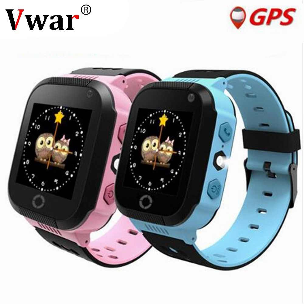 Original Q528 Y21 with Protective film Kid GPS Smart Watch With Flashlight Baby Watch SOS Call Location Device Tracker Safe Q100