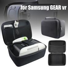 Mayitr 1pc Waterproof EVA Storage Case Black VR Glasses Bag For Samsung Gear VR Oculus Headset 3D Glasses