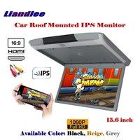 15,6 дюймовый автомобильный монитор для монтажа на крышу потолочный ips экран/откидной дисплей MP5 плеер HDMI/1080 P HD цифровой цветной телевизор
