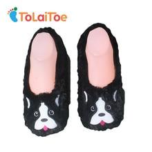 2016 große Größe Warm Plüsch Boden Hausschuhe Nette weibliche Boden Schuhe Tier Form Bestickt Damen Indoor Hause Hausschuhe Pantufla