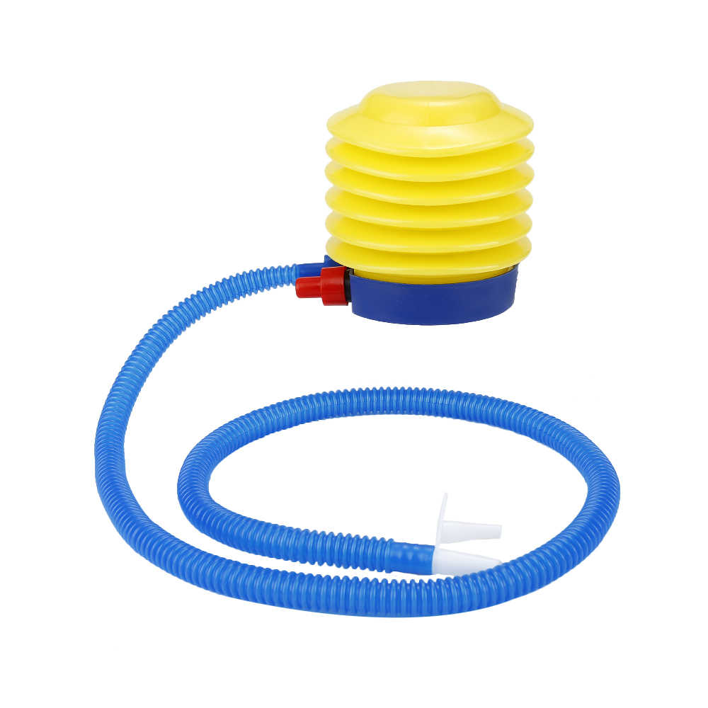 Mini Simple Portable Foot Air Pump Inflate Equipment Party Wedding Festival Balloon Inflator Swimming Ring Boat Air Pump Outdoor