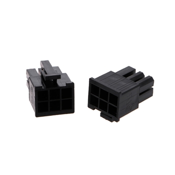 50 Pcs 4.2mm 6P 6 Pin Male Power Connector For PC Computer PCI-E Plastic Shell L15 - discount item  18% OFF Electrical Equipment & Supplies