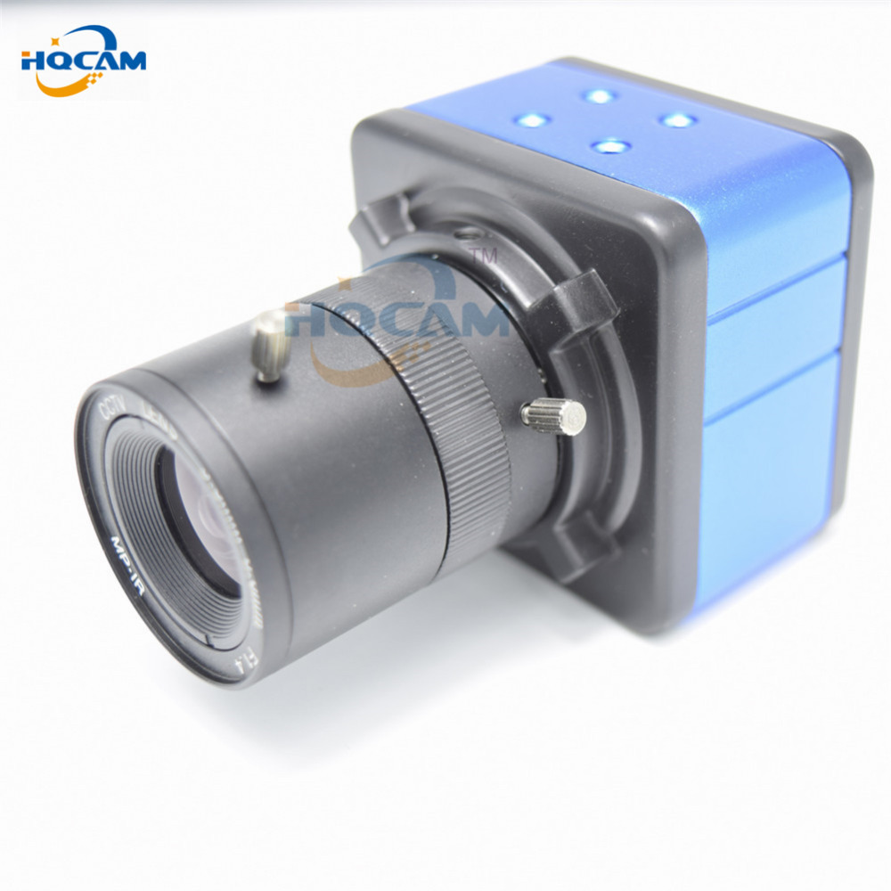 HQCAM 720P Mini IP Camera BOX Camera Home Security Camera IP Camera Support P2P Plug and Play RTSP ONVIF Network 3.5-8mm lens
