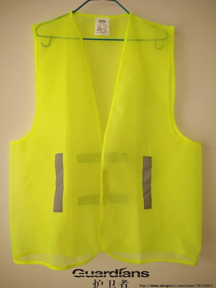Reflective Vest, Working Clothes Provides High Visibility Day & Night For Running, Cycling, Warning Safety Chaleco Reflectante safety reflective vest highlight reflector stripe for day night working
