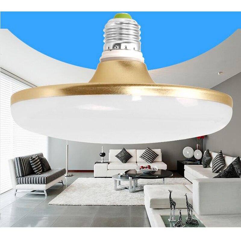 Led Bulb E27 220V SMD5730 LEDs lamp  Spotlight LED Lights  UFO Lampada Bombillas 40W High Power Led Bulb Light Lighting ultra bright e27 led lamp smd 2835 bombillas e14 12w led bulb light 220v spotlight lamparas led high quality energy saving