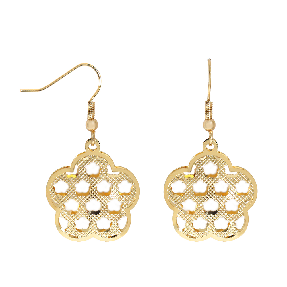 TL Unique Designer Wedding Gift Love Heart Earrings for Women Gold/Silver Stainless Steel Dangle Drop Earrings