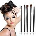 Portable Mini 5 Unids/set Pinceles de Maquillaje de Cejas Sombra de ojos Cepillo Herramienta Cosmética Para Las Mujeres Viajes Compone el Cepillo