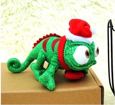 New 8'' Tangled Rapunzel Pascal Chameleon Plush Toy Green Dragon Doll Plush Toys Dolls Minion Plush