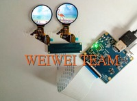 oled micro display 400*400 resolution 1.39 round lcd amoled oled display & Touch screen panel for smart wearable project