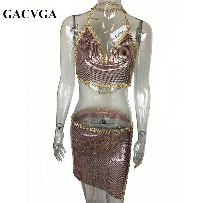 GACVGA 2019 Сексуалдық металды кесу - Әйелдер киімі - фото 6