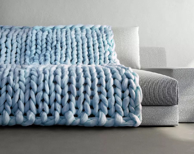 Knitting Blanket