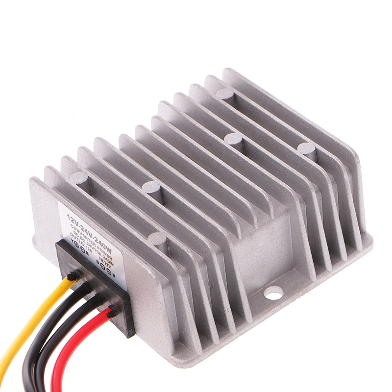 DC 12V Step Up To DC 24V 10A 240W Converter Regulator Car Power Supply Adaptor DlsDC 12V Step Up To DC 24V 10A 240W Converter Regulator Car Power Supply Adaptor Dls