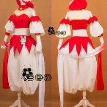 Kinomoto Сакура Косплэй костюм от Cardcaptor Sakura Платье для косплея