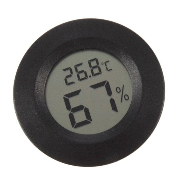 Мини ЖК-дисплей Цифровой термометр гигрометр холодильник морозильник тестер Температура измеритель влажности детектор