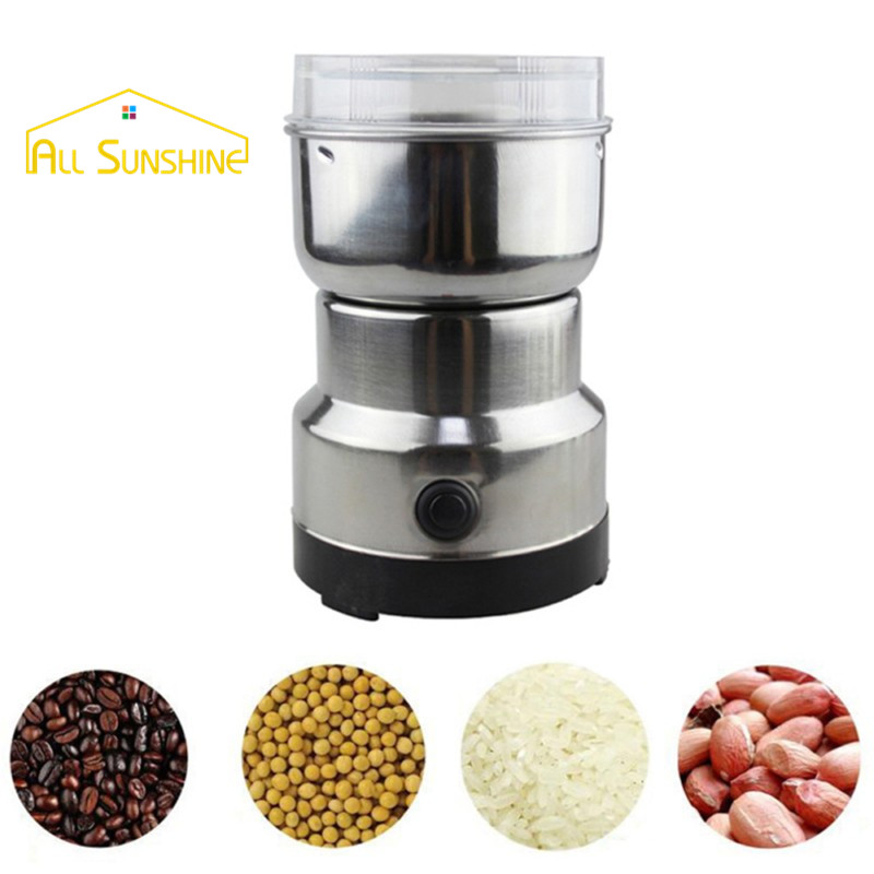 400ML Blade Coffee Grinder Electric Coffee Bean Grinder Mill Stainless Steel for Fine Coarse Grind for