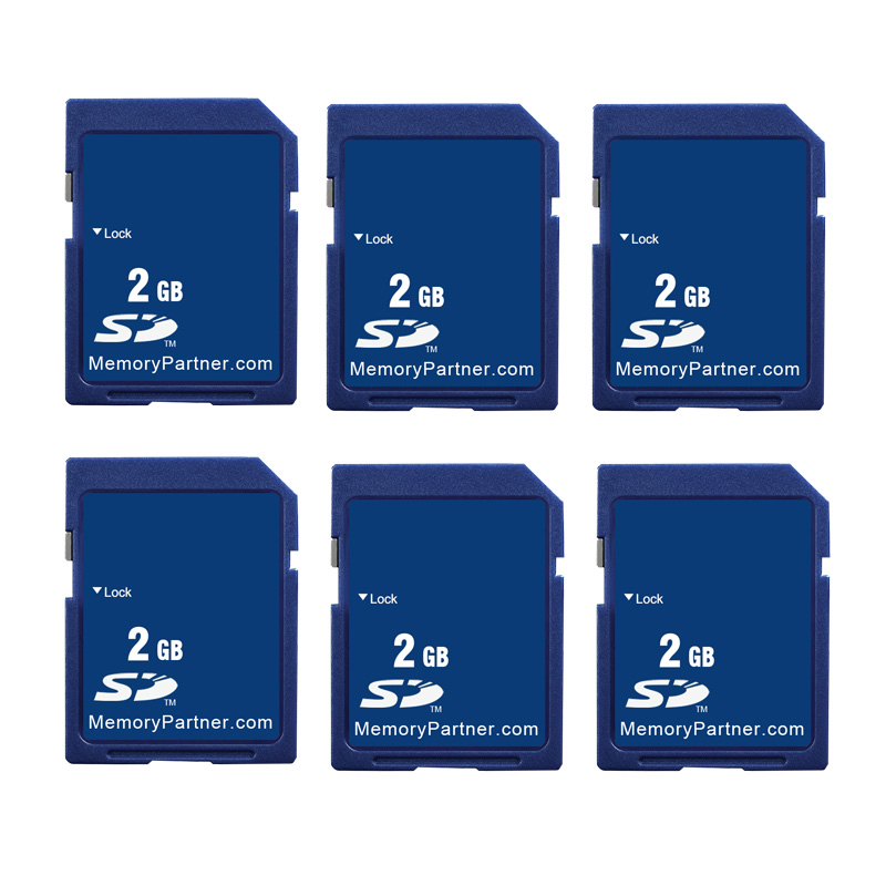 100PCS LOT Wholesale Price Standard SD Card Memory Card 1GB 2GB 512MB 256MB SD Secure Digital
