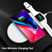 2 In 1 QI Wireless Charger 7 5W Fast Charging Pad Quick Charge 2 0 For